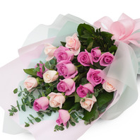 분홍꽃다발(매장픽업상품)